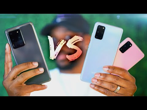 Galaxy S20 vs S20 ULTRA Hands On! - What's the Difference?
