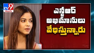Actress Meera Chopra gets rape threats from Jr NTR fans..