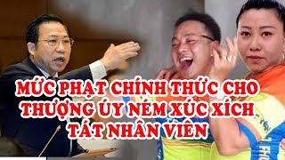 Hình phạt nào mới đáng cho thượng úy Nguyễn Xô Việt ném xúc xích tát nhân viên