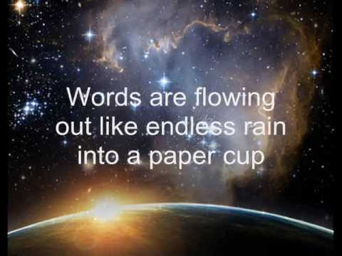 The Beatles - Across the Universe (with lyrics)