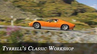 The Italian Job Lamborghini Miura - unearthing an icon | Tyrrell's Classic Workshop