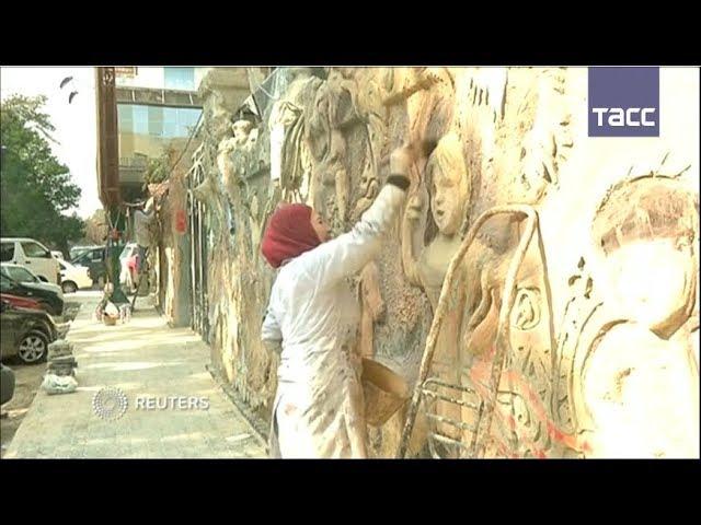Как художники украшают Дамаск