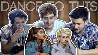 O último REACT: Troye Sivan ft. Ariana Grande - Dance To This