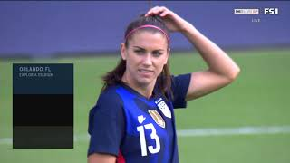 SheBelieves Cup. USA - Brazil (21/02/2021)