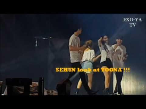 [YOONHUN] 170708 SEHUN YOONA | SMTown Live World Tour VI in Seoul