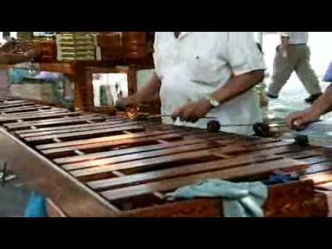 Marimba música de México