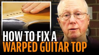 Watch the Trade Secrets Video, Problem: a WaRpEd guitar top!