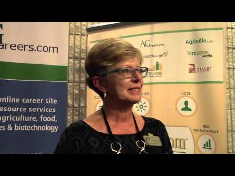 Iris Meck at the 2015 Advancing Women in Agriculture Conference