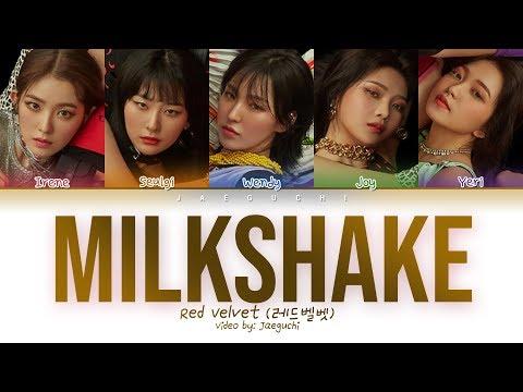 Red Velvet (레드벨벳) - Milkshake (Color Coded Lyrics Eng/Rom/Han/가사)