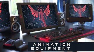 Desk Tour of a Professional Animator 2020