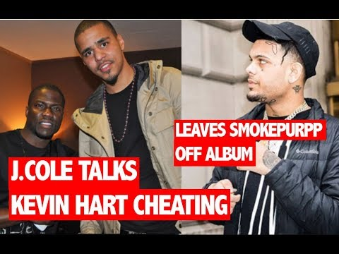 J.Cole Addresses Kevin Hart Cheating, Opts To Leave