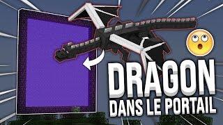 FAIRE RENTRER L'ENDER DRAGON DANS UN PORTAIL DU NETHER ! - BEDWARS