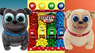 Puppy Dog Pals M&M' Mission Dispenser with Rolly & Bingo