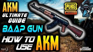 PUBG Mobile : Thats Why I Love AKM ❤❤❤