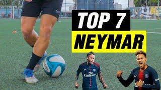 TOP 7 MELHORES DRIBLES DO NEYMAR | TUTORIAL DE DRIBLE