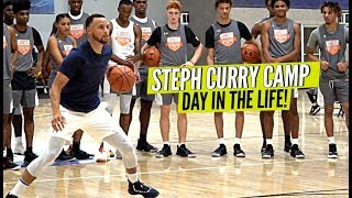 Steph Curry Teaches The Next Generation! Day In The Life at Steph Curry Camp!