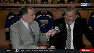 Bob Plager after Blues head to Stanley Cup Final: 'I had some tears'