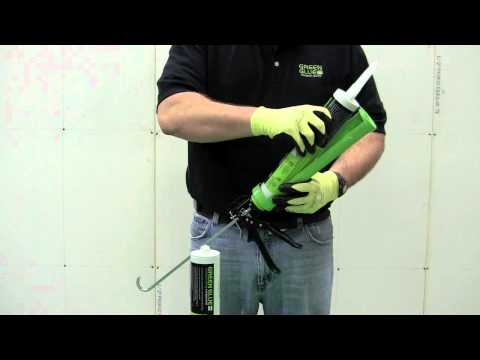 How to use Green Glue Soundproofing Compound