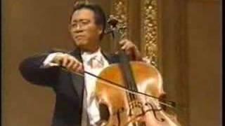 Yo-Yo Ma: Elgar Cello Concerto, 1st mvmt