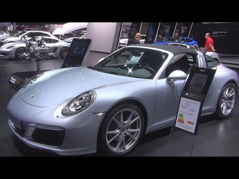 @Porsche 911 Targa 4 (2017) Exterior and Interior in 3D