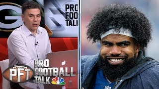 Ezekiel Elliott, Dallas Cowboys finally agree to new deal | Pro Football Talk | NBC Sports