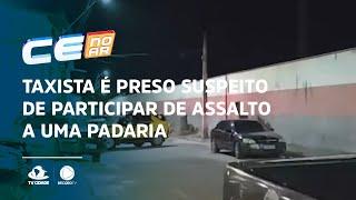 Taxista é preso suspeito de participar de assalto a uma padaria