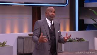 STEVE HARVEY GIVING GAME ON CHASING YOUR DREAMS
