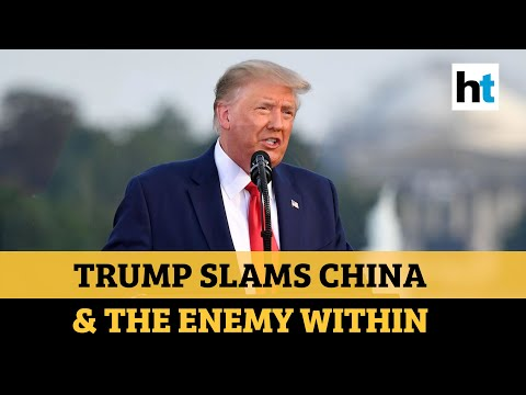 In July 4th speech, Trump slams China for Covid-19; vows to defeat 'radical left'