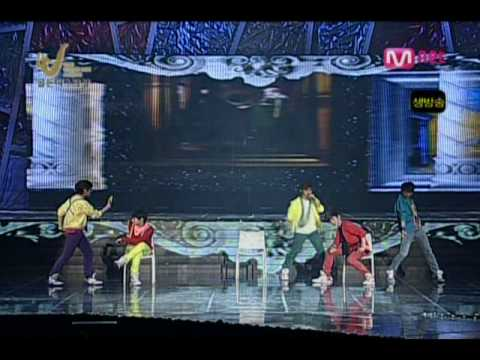 081210 Golden Disk - SHINee - Noona So Pretty+Love Like Oxygen+Amigo