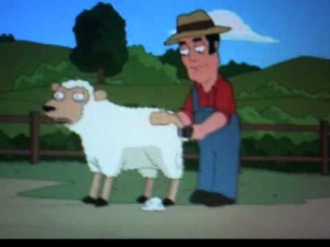 Family guy sheep shearer