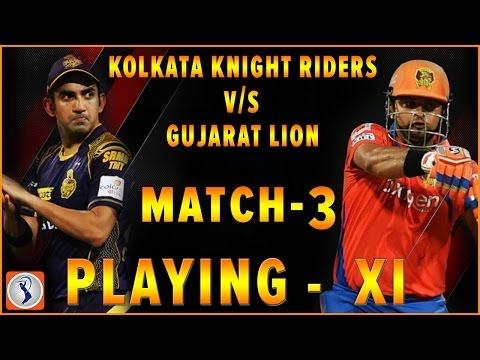 Kolkata Knight Riders vs Gujarat lions IPL 2017