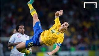 Zlatan Ibrahimovic's famous 30-yard bicycle kick vs England