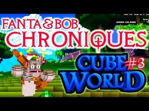 fanta et bob, les chroniques de cube world - ep.3