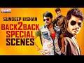 Sundeep Kishan Birthday Special Super Hit Movie Scenes | HBD Sundeep Kishan | Aditya Movies