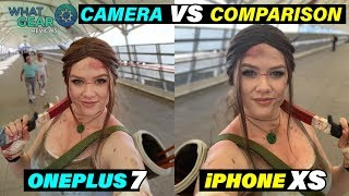 Oneplus 7 Pro vs iPhone XS Max Camera Comparison | @ London MCM Comic con 2019