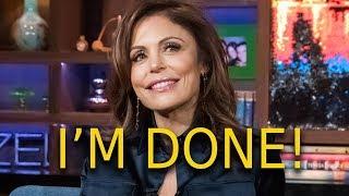 Bethenny Frankel quits RHONY! Plus the breakdown between her Bravo & Andy Cohen!!