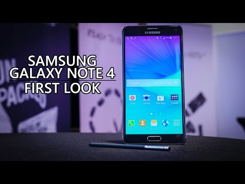 Samsung Galaxy Note 4 First Look!