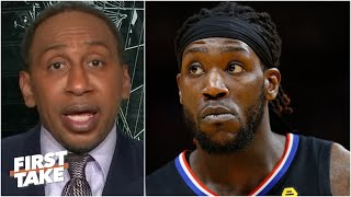 Stephen A. talks the Clippers' free agency & tells Montrezl Harrell to 'stop lying' | First Take