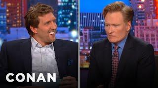 Dirk Nowitzki Gives Conan The Texas Citizenship Test