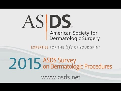 Members of the American Society for Dermatologic Surgery performed almost 10 million medically necessary and cosmetic procedures in 2015.