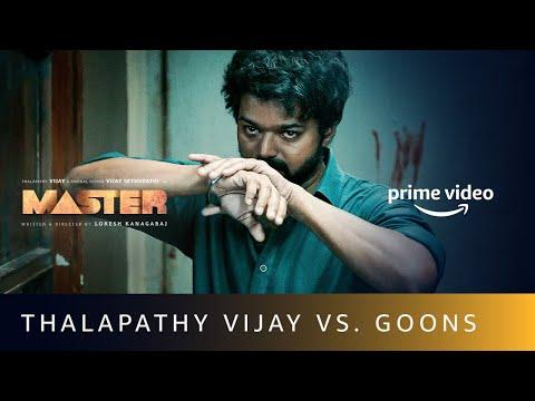 Thalapathy Vijay Vs goons in Master, Amazon Prime Video