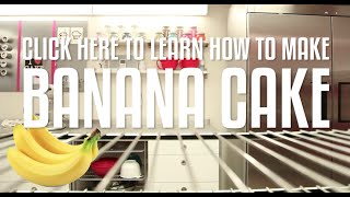 How to Make Yolanda's delicious BANANA CAKE!