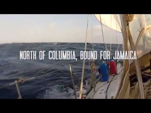 Sailing Offshore Columbia to Jamaica - Some of the most severe Winds & Seas in the Caribbean