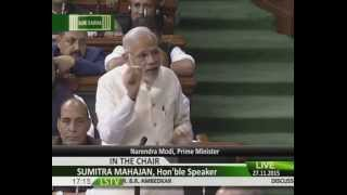 Parliament LIVE: Narendra Modi fitting reply to Congress On intolerance