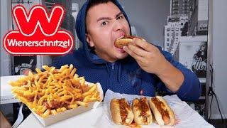 Wienerschnitzel MUKBANG Chili Cheese Dogs, Chili Cheese Fries