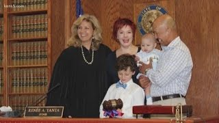 FOREVER FAMILY: Judge Renee Yanta oversees forever families coming together in her court