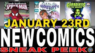 NEW COMIC BOOKS RELEASING JANUARY 23rd 2019. MARVEL COMICS DC COMICS BATMAN COMICS WEEKLY PICKS