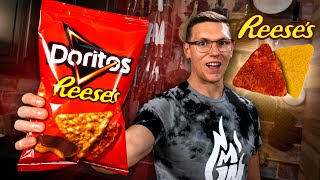 Reese's Peanut Butter Cup Doritos Recipe | SNACK SMASH | Mythical Kitchen