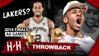 Throwback: Kawhi Leonard Full Series Highlights vs Miami Heat (2014 NBA Finals) -  Finals MVP! HD