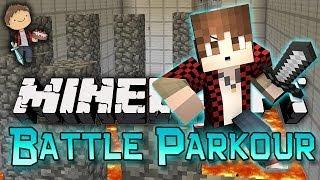 Minecraft: Battle Parkour 2! Mini-Game w/Mitch & Friends